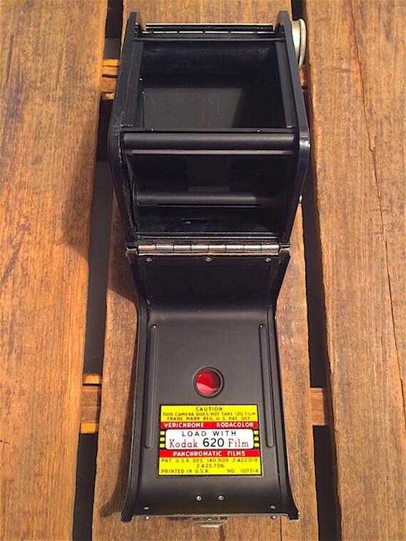 Vintage Kodak Duaflex Camera 1st Version With Kodet Lens
