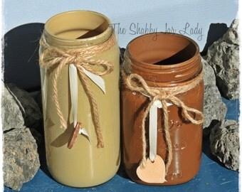 I love Coffee Colored Jars - Home Decor