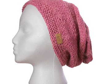 Wool Hat, Vera Hat, Slouch hat, beanie, toque, knit hat, cap, hand knit, wool