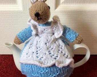 Bunny Teacosy, Bunny teacozy, rabbit teacosy, teacosy, cover for teapot, teapot cozy, cosy for teapot, cosies, cozies, rabbit cosy,