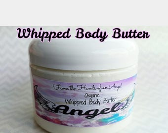 Whipped Body Butter (Bigger Sizes: 8-16 oz Jars) Super Moisturizing ~Pick your scent in the details