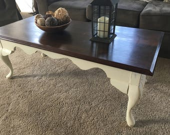 French Country Coffee Table LOCAL PICKUP ONLY