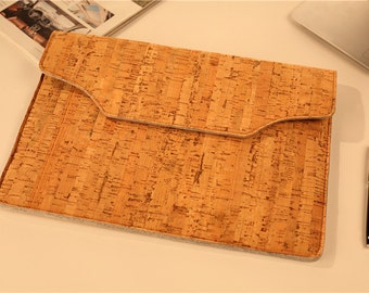 Macbook Air Sleeve , Cork Laptop Sleeve , Macbook Pro Sleeve , Laptop Case Macbook Pro Case Cork , Macbook 12 Case , Macbook 12 Case #257