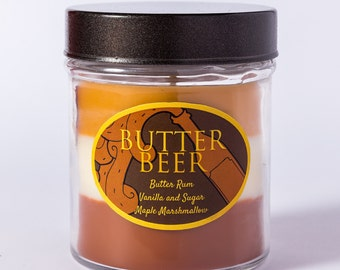 Butter Beer - Layered Soy Wax