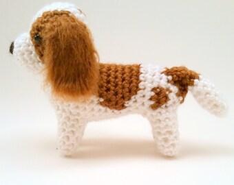 Cavalier King Charles Spaniel - Crocheted Dog