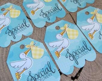 Baby Shower Tag (6)/Stork Baby Shower/Stork Tag