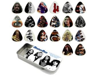 Status Quo Guitar Pick Gift Tin - Set of 20