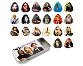 Nirvana Guitar Pick Gift Set - Set of 20