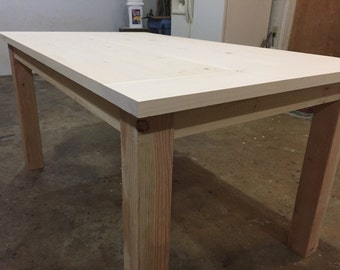 DIY Farm Table - Up To 9' Length!!!