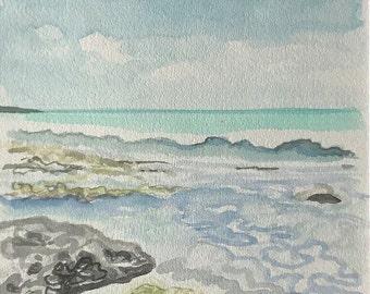 Limestone tide pools