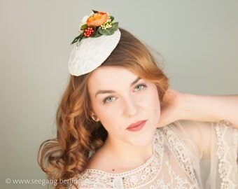 Wedding Hat Lace