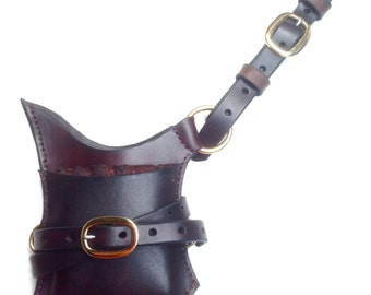 Horse Archery Speed Quiver - sleeves for 6 arrows