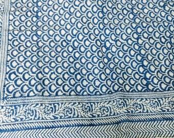 Handmade Kantha Quilt, Kantha Bedspread, Indian Kantha Throw, Indian Cotton Kantha Quilts, 100% cotton, 90 X 108 Inches