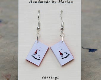 Twilight mini book earrings Breaking Dawn