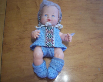 Vintage Ideal Baby Boy Doll
