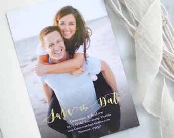 Custom Save the Date/Save the Weekend Magnets