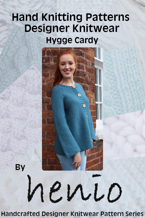 Hygge Cardy Hand Knitting Pattern from henioCreative on ...