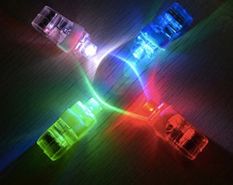 LED finger lights for free motion quilting, sewing, cleaning/repairing sewing machine, finding small parts, also party lights. WATERPROOF