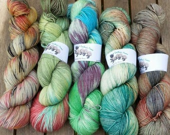 Kit for So Faded Sweater by Andrea Mowry - Earth Hues