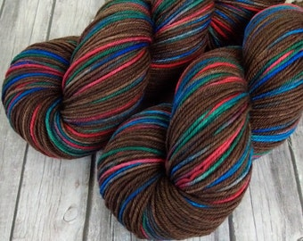 Hand Dyed Yarn, Merino Cottage DK, 4 ply,  SW Merino, 270 yards