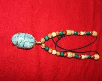 Reiki Infused Beautiful Amazonite Power Pendant