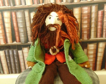 Hand-Knitted Hagrid