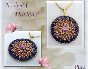"Schéma pendentif"" Marlène"""