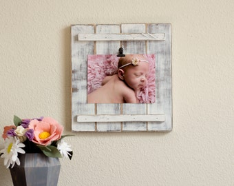 Rustic Wooden Picture Frame – Rustic Frames – Rustic Picture Frame – Picture Frame – Nursery Picture Frame - Rustic Decor - Rustic Nursery
