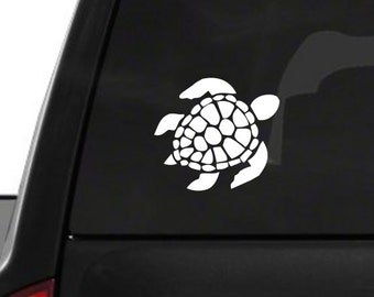 Sea Turtle (M7) Vinyl Decal Sticker Car Netbook Window