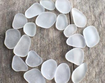 Genuine White Sea Glass