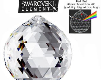 Swarovski 8558 Ball Shaped Prism - Crystal Clear - Choice of 7 Sizes