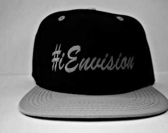The Inner Self Collection 2.0 #iEnvision SnapBack Black/Grey