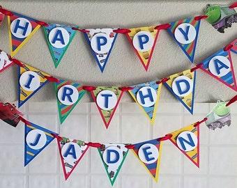 Chuggington Birthday Party Banner, Chuggington Decor, Chuggington Party Supplies, Train Birthday Party, Chuggington Party Sign