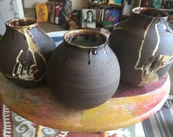 Black Mountain Handmade Ceramic Vases