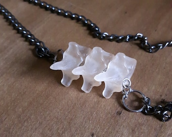 Acrylic Vertebrae Necklace