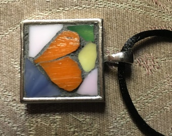 Mosaic Heart Pendant