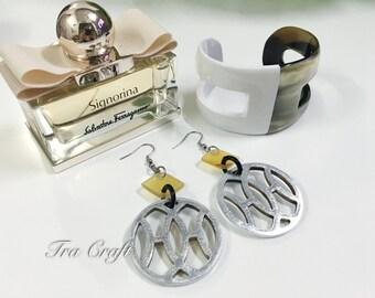 Horn & Lacquer Earrings_K15S