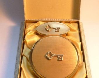 Vintage twenty first birthday gifts for her unused Stratton vanity set