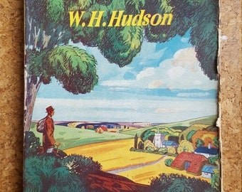 A Foot in England / W H Hudson / Penguin Paperback Book 1945 / Classic Vintage Books / First Edition