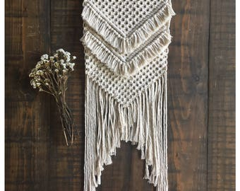 RIVER - Mini Macrame Wall Hanging
