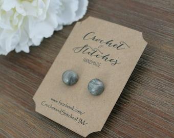 Polymer Clay Earrings ~ Ladies Earrings ~ Studs