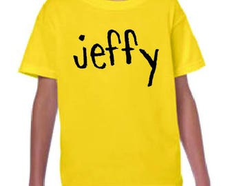 Jeffy SML Yellow T-Shirt