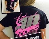 Dirt track racing etsy for Custom race shirts no minimum