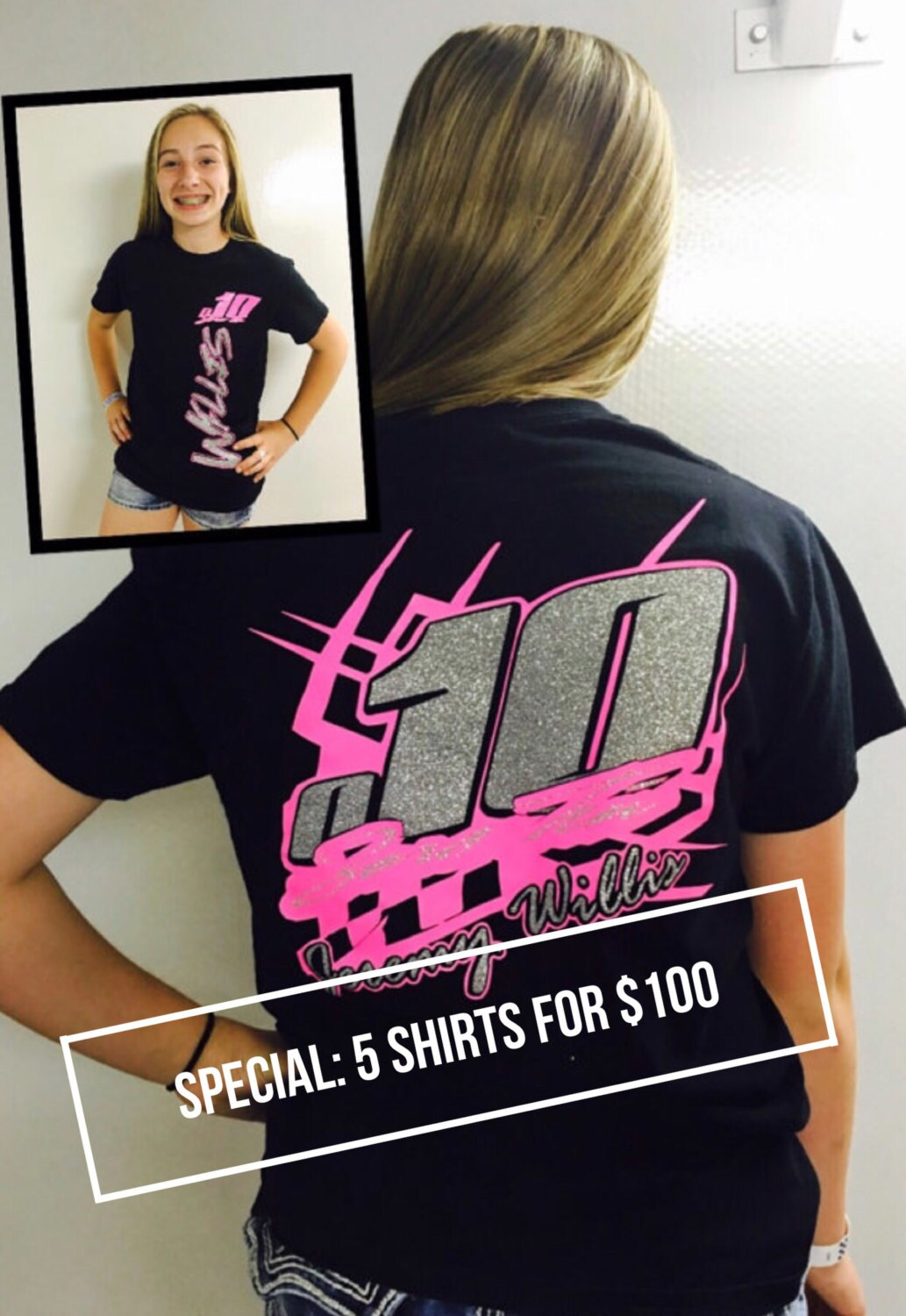 Custom racing shirt racing shirts dirt by xtremebowtiquebows for Racing t shirts custom