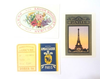 Vintage Style Stickers-Paris Theme-24 Sticker Sheets