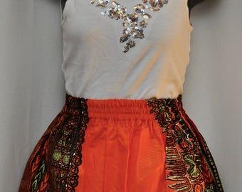 Dashiki Skirt - Girls