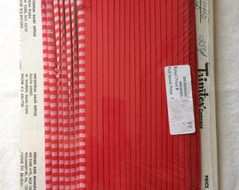 """New Red and Pink Piping Trim 1/2"""" x 25 yards by Trimtex"""