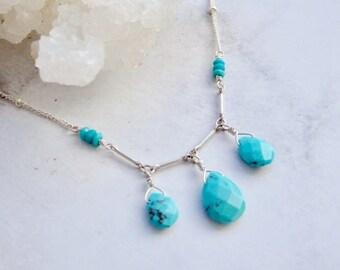Lulani - triple turquoise