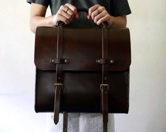 Leather Bag, Men's Leather Bag, Leather Briefcase