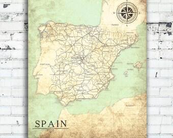 Spanish Wall Art spanish wall art | etsy